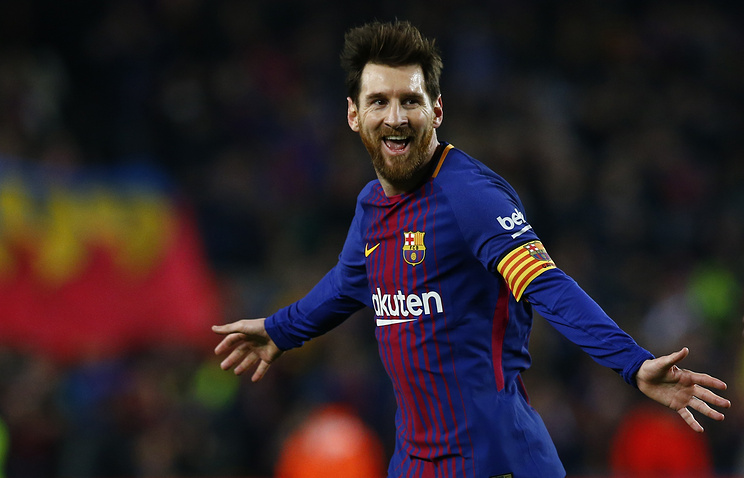 Billedresultat for lionel messi 2018