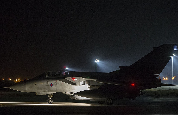 United Kingdom  jets fire at Syrian base in 'limited and targeted' strike