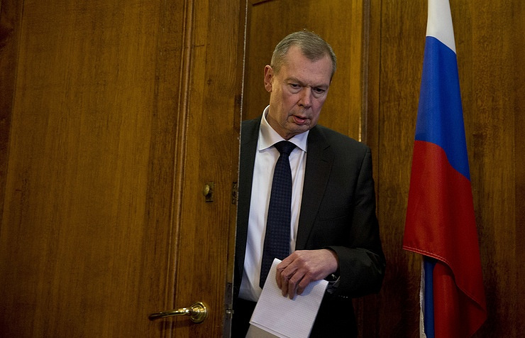 Russia's Permanent Representative to the OPCW Alexander Shulgin