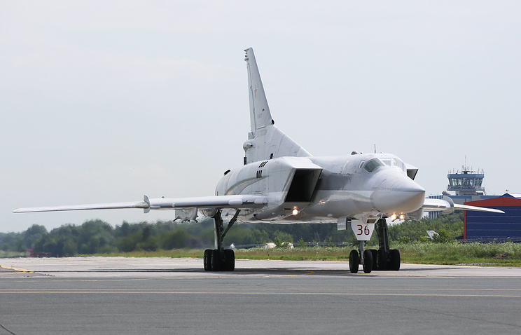 Tu-22M3 strategic bomber