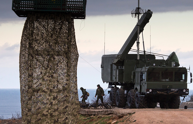 S-400 air defense missile system