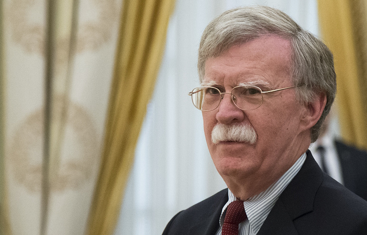 US presidential national security adviser John Bolton