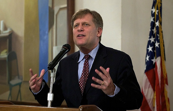Former US ambassador to Russia Michael McFaul