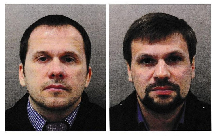 Russian nationals named as suspects in Salisbury poisonings