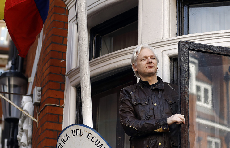 Russian embassy rejects allegations about plans to help Assange escape from UK
