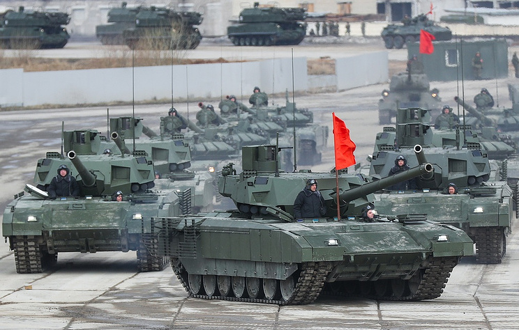 Russia's T-14 tank based on the Armata