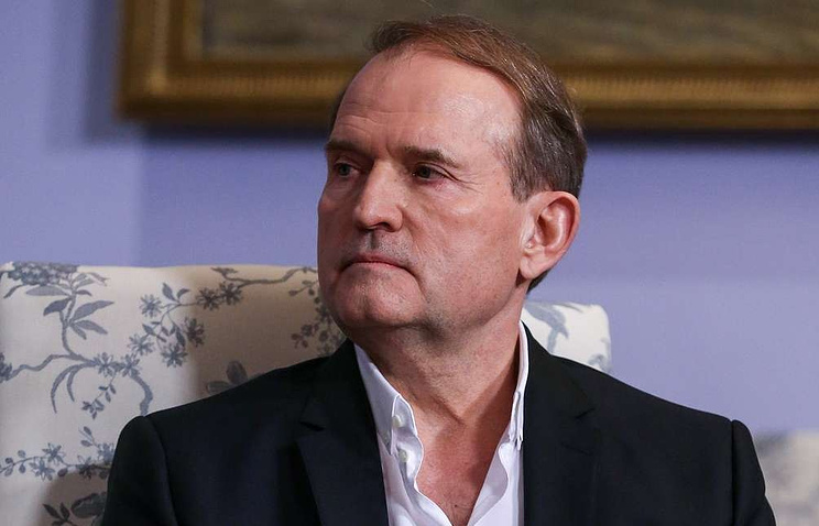 The chairman of the Opposition Platform - For Life party's Political Council, Viktor Medvedchuk