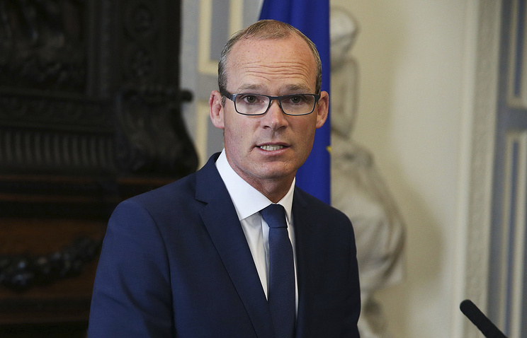Irish Minister for Foreign Affairs and Trade Simon Coveney