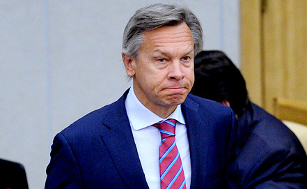 Alexei Pushkov, Photo ITAR-TASS