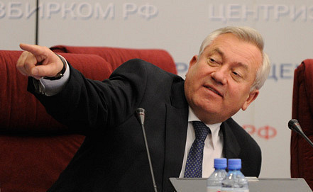 Deputy Chairman of Centail Election Committee of Russia Leonid Ivlev. Photo ITAR-TASS/ Alexey Filippov