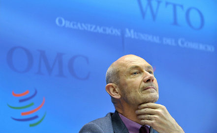 WTO Director-General Pascal Lamy, Photo EPA/ITAR-TASS