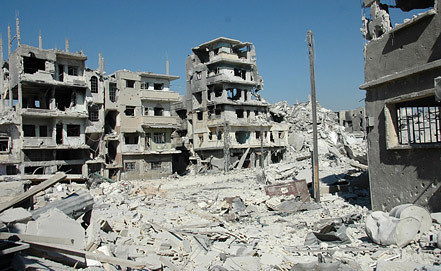 Syria.Homs. Photo EPA/ STR