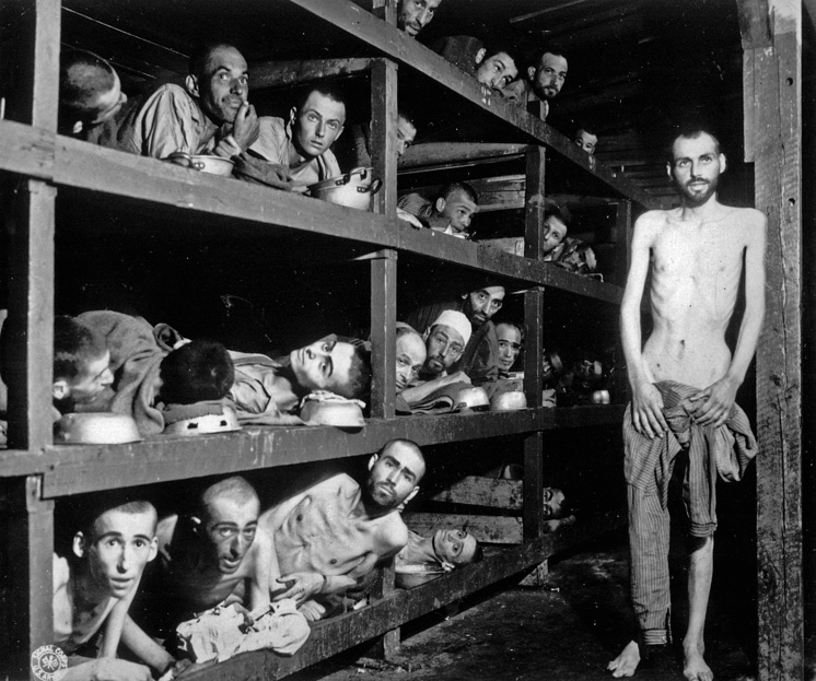 Buchenwald camp was one of the most terrible, over a million people were killed here