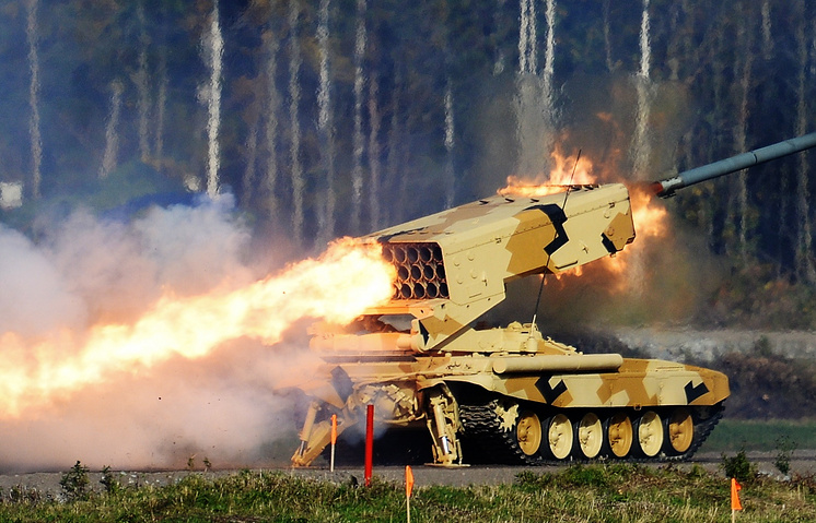 TOS-1 heavy flamethrower system (archive)