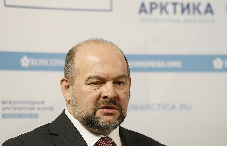 Governor of the Arkhangelsk region Igor Orlov