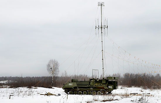 Borisoglebsk-2 electronic warfare system Russian Defense Ministry